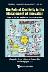 """Titelblatt des Buchs """"The Role of Creativity in the Management of Innovation"""""""