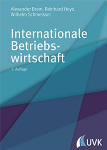 Buchcover Internationale Betriebswirtschaft