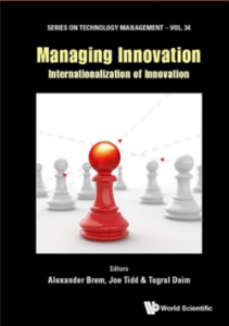 Cover Managing Innovation - Internationalization of Innovation